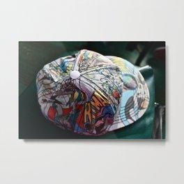 hat  Metal Print