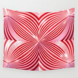 Visions of Peppermints Wall Tapestry