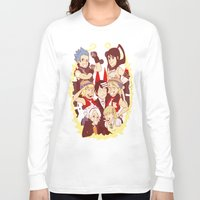 soul eater Long Sleeve T-shirts featuring Soul Eater Meisters and Weapons by renaevsart