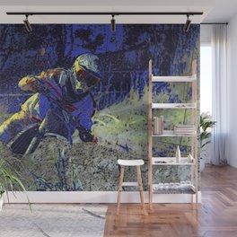 Trail Blazer Motocross Rider Wall Mural