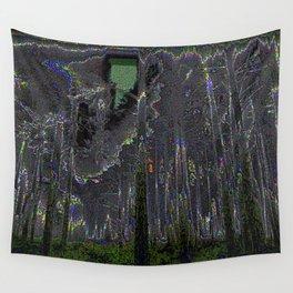 Digital Fog Wall Tapestry