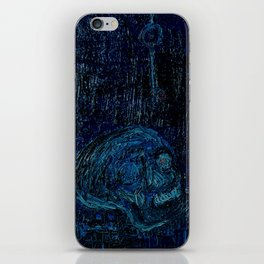 The Skull and the Key iPhone Skin