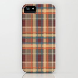 Beautiful brown orange cage . iPhone Case