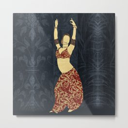 Belly dancer 17 Metal Print