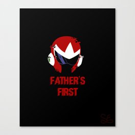 Father's First Canvas Print