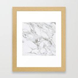 Carrera Marble Framed Art Print