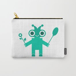 Romantic Robot #society6 #decor #buyart #artprint Carry-All Pouch