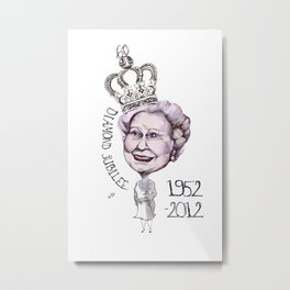 Diamond Jubilee Metal Print