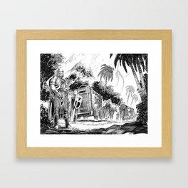 The Jungle Caravan Framed Art Print