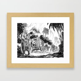 The Jungle Caravan Framed Art Print