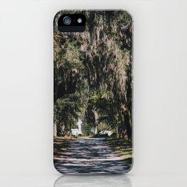 Bonaventure Cemetery - Savannah, Georgia II iPhone Case