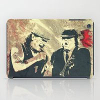 dc iPad Cases featuring AC/DC by Nechifor Ionut