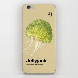 Jj - Jellyjack // Half Jellyfish, Half Jackfruit iPhone Skin