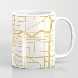 PORTLAND OREGON CITY STREET MAP ART Coffee Mug