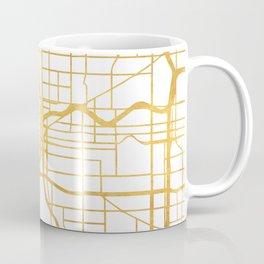 PORTLAND OREGON CITY STREET MAP ART Coffee Mug