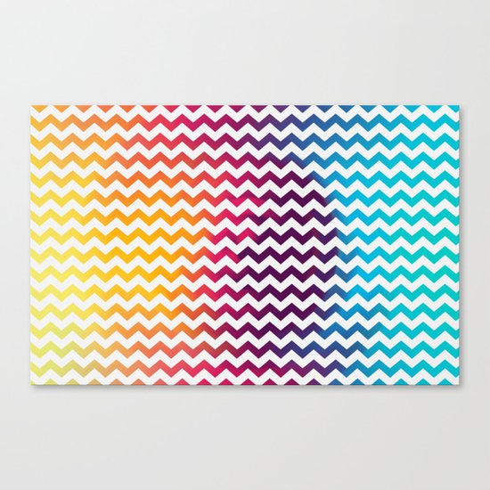 Rainbow Zoon Canvas Print
