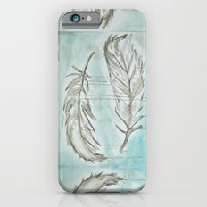 Feathers and memories Slim Case iPhone 6s