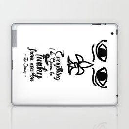 Everything I Do Gonna Be Funky (For Now On) Laptop & iPad Skin