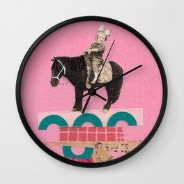Higher Ground- Ellie Wall Clock