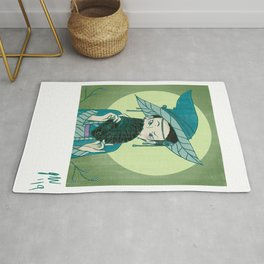 Cards Witch Rug