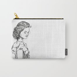 Tenderness, ink illustration Carry-All Pouch