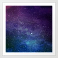 universe Art Prints featuring Universe by Space99