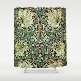 Pimpernel by William Morris Shower Curtain