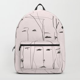 Resting faces Backpack