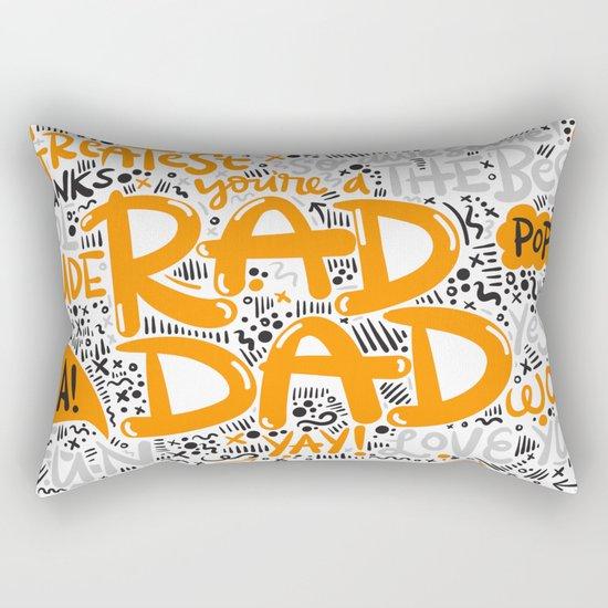 Fathersday dad Rectangular Pillow