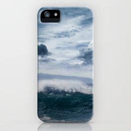 He inoa wehi no Hookipa  Pacific Ocean Stormy Sea iPhone Case