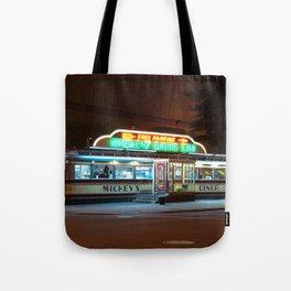Mickey's Diner Tote Bag