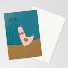 Folsky bird Stationery Cards