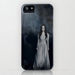 Ghost In The Mist Cristina Scabbia Inspired Artwork iPhone Case