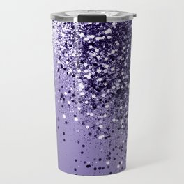 ULTRA VIOLET Glitter Dream #1 #shiny #decor #art #society6 Travel Mug