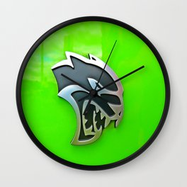 Sublime Hellcat Wall Clock