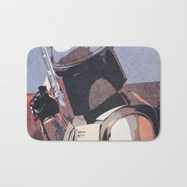 Bobba Fett | The Bounty Hunter | Star War Art Bath Mat