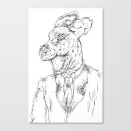 Unleashed 2 Canvas Print