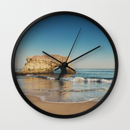 Natural Bridges State Beach ... Wall Clock