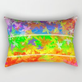 Happy outdoors rainbow fairies Rectangular Pillow