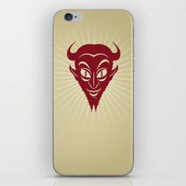 The Devil Face iPhone Skin