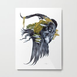Still Metal Print