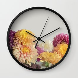 Mums the Word Wall Clock