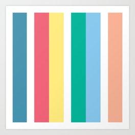 Bondi Stripe Art Print