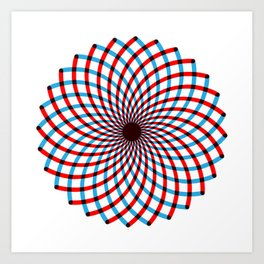 For when you feel dizzy Art Print