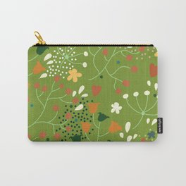 Floral seamless pattern. Carry-All Pouch