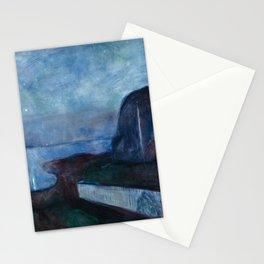 Edvard Munch - Starry Night Stationery Cards
