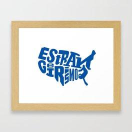Estrangeirismos US Framed Art Print