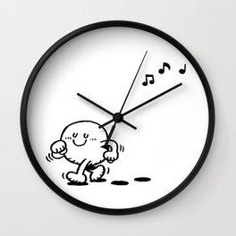 lalala Wall Clock