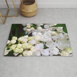 White Lilacs Rug