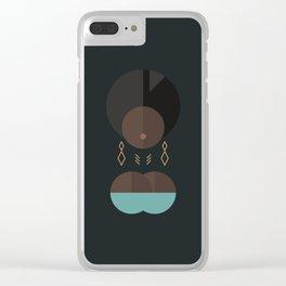 BLACK MAGIC WOMEN / Adero Clear iPhone Case